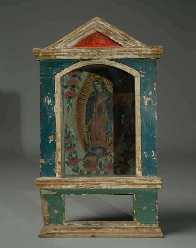 Mexican retablo, 19th century.