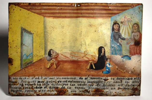 Ex-voto for the recovery of Pablo Rodrigues, November 5, 1940.