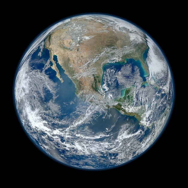 NASA Goddard Space Flight Center, Blue Marble, 2012.
