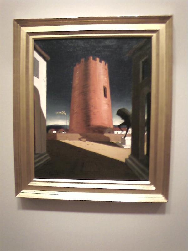 Giorgio de Chirico, Rose Tower, 1913.