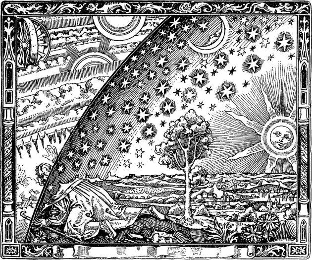 Camille Flammarion, L'atmosphère: météorologie populaire, 1888.